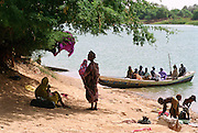 Women and Children - River Ferry - Senegal