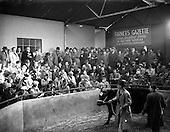 1952 - Christmas fat-stock at Dublin Cattle Market
