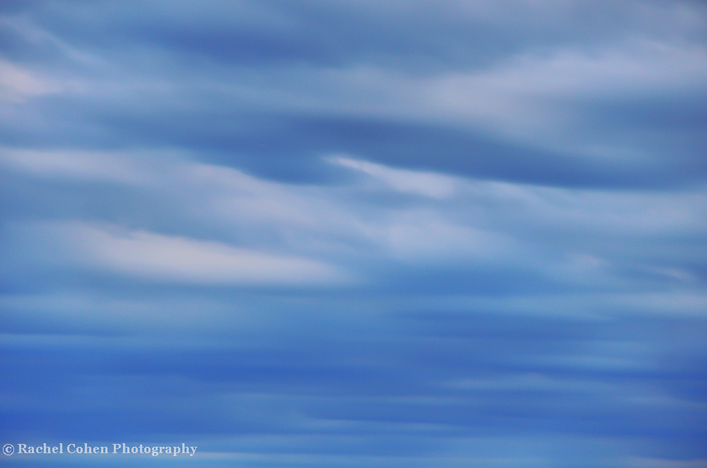 """""""Serene""""<br /> <br /> Pure serenity. Wonderful calm, and peace!!<br /> That's the feeling you get from this lovely tonal blue, abstract cloud image!!<br /> <br /> Nature Abstracts by Rachel Cohen"""