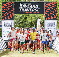 The trail runners head out for the final stage of the Fairview Dryland Traverse, on the 6th of November 2016.<br /> <br /> <br /> Photo by: Oakpics/Fairview Dryland Traverse/SPORTZPICS<br /> <br /> <br /> {dem16gst}