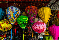 Shop selling lanterns, Hoi An, Vietnam.