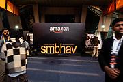 NEW DELHI, INDIA – JANUARY 15, 2020: Scenes from the 2020 Microsoft SMB Summit at Jawaharlal Nehru Stadium.