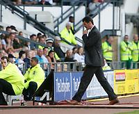 Roy Keane patrols the touchline. Derby County v Sunderland