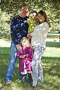 Palmer Family - portraits in Primrose Hill & Regent's Park