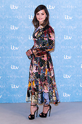 © Licensed to London News Pictures. 24/08/2017. London, UK. Actress JENNA COLEMAN attend the launch of the ITV series VICTORIA season 2. Jenna plays Queen Victoria in the series. Photo credit: Ray Tang/LNP