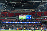 Football - 2017 / 2018 UEFA Champions League - Group B: Tottenham Hotspur vs. PSV Eindhoven<br /> <br /> A less than full capacity for the match against PSV at Wembley Stadium.<br /> <br /> COLORSPORT/DANIEL BEARHAM