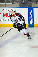 KELOWNA, BC - DECEMBER 18: Zack Ostapchuk #10 of the Vancouver Giants warms up on the ice against the Kelowna Rockets at Prospera Place on December 18, 2019 in Kelowna, Canada. (Photo by Marissa Baecker/Shoot the Breeze)