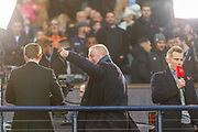 Ex Rangers and Scotland Ally McCoist during the Betfred Scottish League Cup semi-final match between Rangers and Heart of Midlothian at Hampden Park, Glasgow, United Kingdom on 3 November 2019.