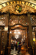 The Brasileira coffee bar, at Lisbon .PHOTO PAULO CUNHA/4SEE