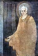 Prince Siddhartha: Siddhartha Guataman (c563-c483 BC) founder of Buddhism. Became supreme Buddha c528 BC. Buddha as mendicant in saffron robes.