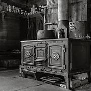 Shackleton's coal burning stove