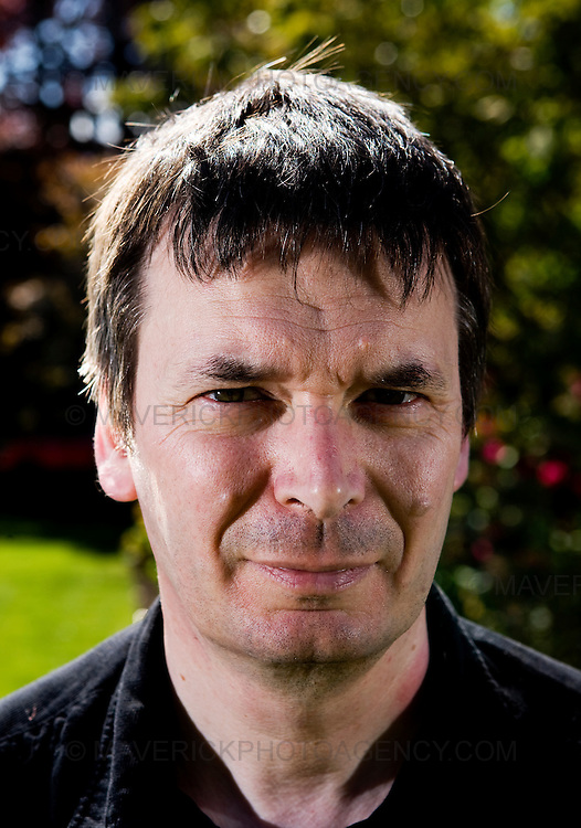 Ian Rankin, Scottish author and creator of the Inspector Rebus novels  at his home in Edinburgh..Picture Michael Hughes/Maverick