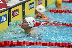 November 10, 2017 - Beijing, Beijing, China - Beijing, CHINA-10th November 2017:(EDITORIAL USE ONLY. CHINA OUT) ..Chinese swimmers Xu Jiayu and Liu Xiang at FINA Swimming World Cup 2017 at the National Aquatics Centre in Beijing, November 10th, 2017. (Credit Image: © SIPA Asia via ZUMA Wire)