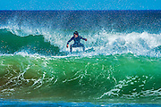 Surfing in the Atlantic Ocean at Lawrencetown Beach <br /> Lawrencetown Beach Provincial Park <br /> Nova Scotia<br /> Canada