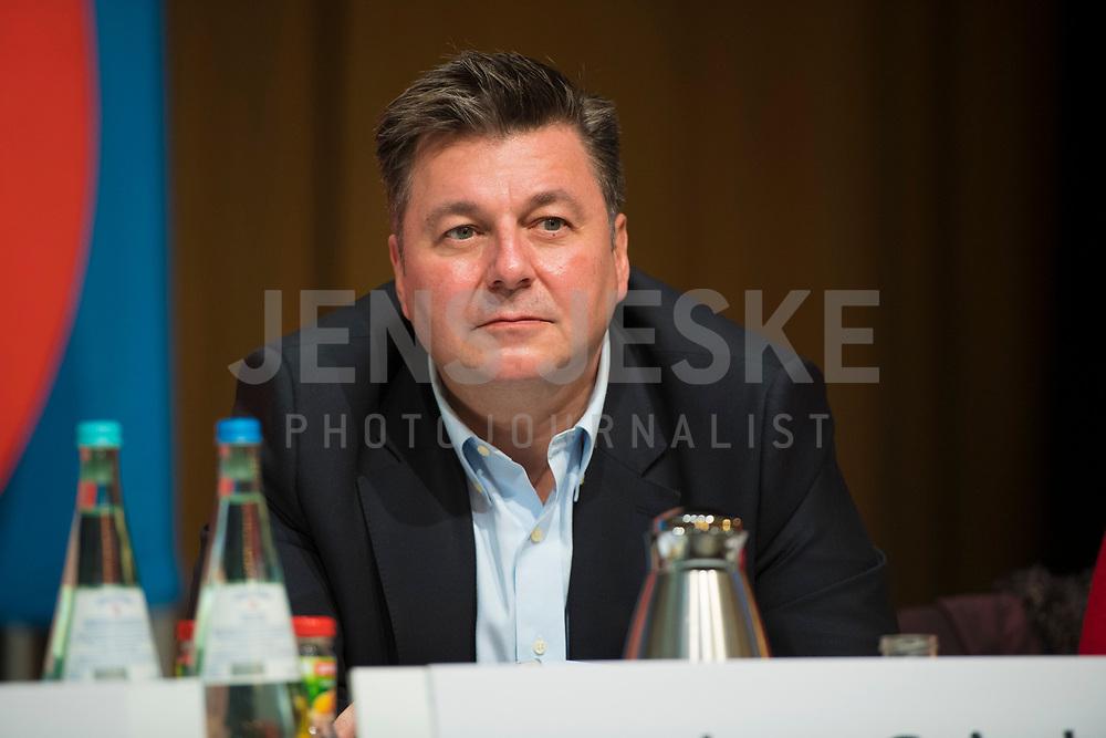 DEU, Deutschland, Germany, Berlin, 17.11.2018: Berlins Innensenator Andreas Geisel (SPD) beim Landesparteitag der Berliner SPD im Hotel Maritim.