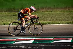 VAN DER BREGGEN Anna of Netherlands competes during Women Elite Road Race at UCI Road World Championship 2020, on September 26, 2020 in Imola, Italy. Photo by Vid Ponikvar / Sportida