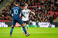 Germany (7) Draxler, England (10) Ruben Loftus-Cheek during the Friendly match between England and Germany at Wembley Stadium, London, England on 10 November 2017. Photo by Sebastian Frej.