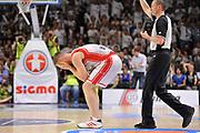 DESCRIZIONE : Campionato 2014/15 Serie A Beko Dinamo Banco di Sardegna Sassari - Grissin Bon Reggio Emilia Finale Playoff Gara4<br /> GIOCATORE : Rimantas Kaukenas<br /> CATEGORIA : Ritratto Delusione<br /> SQUADRA : Grissin Bon Reggio Emilia<br /> EVENTO : LegaBasket Serie A Beko 2014/2015<br /> GARA : Dinamo Banco di Sardegna Sassari - Grissin Bon Reggio Emilia Finale Playoff Gara4<br /> DATA : 20/06/2015<br /> SPORT : Pallacanestro <br /> AUTORE : Agenzia Ciamillo-Castoria/C.Atzori
