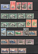 Ceylon [Now Sri Lanka] postage stamps. 1947 and earlier
