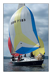 Largs Regatta Week - August 2012..GBR7183, Ravels,  Duncan Chalmers