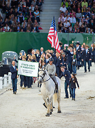 Team USA - Opening Ceremony - Alltech FEI World Equestrian Games™ 2014 - Normandy, France.<br /> © Hippo Foto Team - Jon Stroud<br /> 24/06/14