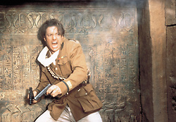 1999; The 1999 Mummy. Original Film Title: The 1999 Mummy, PICTURED: BRENDAN FRASER, Composer: Jerry Goldsmith, Director: Stephen Sommers, IN CAST: Brendan Fraser, Rachel Weisz, John Hannah, Billy Zane, Arnold Vosloo, Kevin O'Connor, Jonathan Hyde, Oded Fehr, Erik Avari  (Credit Image: © UNIVERSAL PICTURES/Entertainment Pictures/ZUMAPRESS.com)