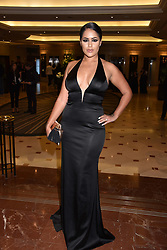 Malin Andesson at The Asian Awards, The Hilton Park Lane, London England. 5 May 2017.<br /> Photo by Dominic O'Neill/SilverHub 0203 174 1069 sales@silverhubmedia.com