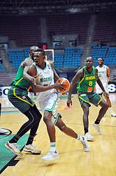 September 15, 2017 - Tunis, Tunisia - Yahya Abdul(11)of Nigeria  during the semi-final of FIBA AfroBasket 2017....Afrobasket 2017: Semifinal: Senegal eliminated by Nigeria who find Tunisia in the final  (Credit Image: © Chokri Mahjoub via ZUMA Wire)