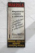 thermometer , Bodegas Otero, Benavente spain castile and leon