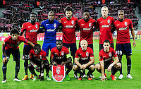Equipe Lille - 11.12.2014 - Lille / Wolfsbourg - Europa League<br />Photo : Dave Winter / Icon Sport