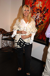 BEVERLEY BLOOM at the opening of the Opera Gallery in London, 134 New Bond Street, London W1 on 29th September 2005.<br /><br />NON EXCLUSIVE - WORLD RIGHTS