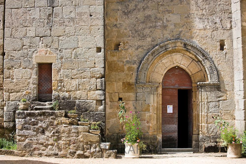 Chateau de la Marthonie, XV, XVI, XVII Century architecture, in St Jean de Cole, France