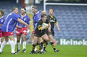 Shepards Bush, West London, UK., 30.09.2001, Mike Friday, London Wasps vs Stade Francais, Loftus Road Stadium,<br /> Heineken European Rugby Cup,<br /> [Mandatory Credit: Peter Spurrier/Intersport Images],