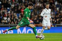 Levante UD´s goalkeeper Diego Marino Villar during 2014-15 La Liga match between Real Madrid and Levante UD at Santiago Bernabeu stadium in Madrid, Spain. March 15, 2015. (ALTERPHOTOS/Luis Fernandez)