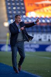Dundee United's manager Csaba Laszlo. Falkirk 0 v 2 Dundee United, Scottish Championship game played 22/9/2018 at The Falkirk Stadium.