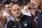 DESCRIZIONE : Roma LNP A2 2015-16 Acea Virtus Roma Assigeco Casalpusterlengo<br /> GIOCATORE : Attilio Caja<br /> CATEGORIA : allenatore coach ritratto time out <br /> SQUADRA : Acea Virtus Roma<br /> EVENTO : Campionato LNP A2 2015-2016<br /> GARA : Acea Virtus Roma Assigeco Casalpusterlengo<br /> DATA : 01/11/2015<br /> SPORT : Pallacanestro <br /> AUTORE : Agenzia Ciamillo-Castoria/G.Masi<br /> Galleria : LNP A2 2015-2016<br /> Fotonotizia : Roma LNP A2 2015-16 Acea Virtus Roma Assigeco Casalpusterlengo