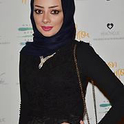 Maryam Taqi is a International Celebrity Makeup Artist Arrivers at the Nailing Mental Health: Valentine's Ball The Hurlingham Club, Ranelagh Gardens on 14 Feb 2018, London, United Kingdom