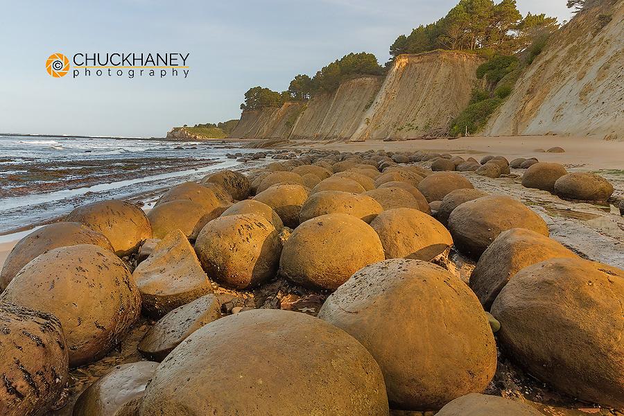 Bowling Ball Beach near Point Arena, California, USA