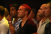 Boxen: Middleweight, Felix Sturm - Predrag Radosevic, Dortmund, 06.07.2013<br /> Lukas Podolski (Fußball, Arsenal London)<br /> ©pixathlon