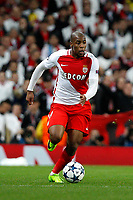 Football - 2016 / 2017 UEFA Champions League - Round of Sixteen, First Leg: Manchester City vs. Monaco<br /> <br /> Djibril Sidibe of Monaco  during the match at the Etihad Stadium.<br /> <br /> COLORSPORT