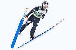 February 8, 2019 - Lahti, Finland - Alessandro Pittin competes during Nordic Combined, PCR/Qualification at Lahti Ski Games in Lahti, Finland on 8 February 2019. (Credit Image: © Antti Yrjonen/NurPhoto via ZUMA Press)