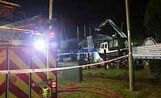 Swanwick Boat Yard Fire