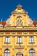 Arts & Crafts Musem, Zagreb, Croatia .<br /> <br /> Visit our CROATIA HISTORIC SITES PHOTO COLLECTIONS for more photos to download or buy as wall art prints https://funkystock.photoshelter.com/gallery-collection/Pictures-Images-of-Croatia-Photos-of-Croatian-Historic-Landmark-Sites/C0000cY_V8uDo_ls