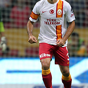 Galatasaray's Cristiano Marques Gomes during their Turkish Super League soccer match Galatasaray between Eskisehirspor at the TT Arena at Seyrantepe in Istanbul Turkey on Saturday, 06 October 2012. Photo by TURKPIX