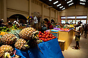 The fresh produce market in Hellville, Madagascar. The Magical Experience of a boat charter from Nosy Be, Madagascar. Madagascat Charters offer the full range of services. All Images by Greg Beadle. Copyright, www.beadlephoto.com
