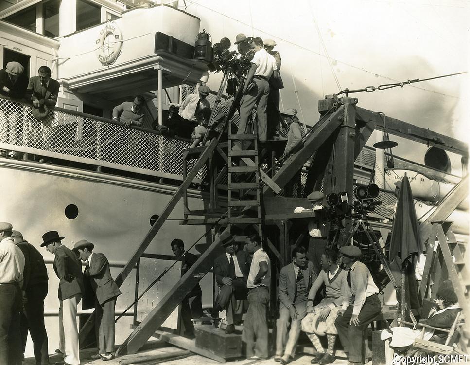 1928 Movie making at Paramount Studios