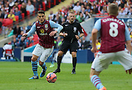 Ashley Westwood of Aston Villa during the The FA Cup match between Arsenal and Aston Villa at Wembley Stadium, London, England on 30 May 2015. Photo by Phil Duncan.