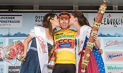 06.07.2016, Heiligenblut, AUT, Ö-Tour, Österreich Radrundfahrt, 4. Etappe, Rottenmann zur Edelweissspitze, im Bild Jan Hirt (CZE, CCC Sprandi Polkowice, gelbes Trikot) // Jan Hirt (CZE CCC Sprandi Polkowice Yellow Jersey) during the Tour of Austria, 4th Stage from Rottenmann to Edelweissspitze. Heiligenblut, Austria on 2016/07/06. EXPA Pictures © 2016, PhotoCredit: EXPA/ JFK
