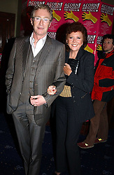 Comedian PAUL O'GRADY and CILLA BLACK at an after show party following the opening night of Acorn Antiques - The Musical at The Theatre Royal, Haymarket and held at The Cafe de Paris, Coventry Street, London on 10th February 2005.<br /><br />NON EXCLUSIVE - WORLD RIGHTS