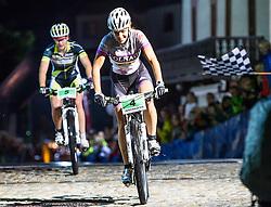03.08.2012, Kaprun, AUT, Bike Infection, XC BATTLE Damen, im Bild Julia Innerhofer (ITA). EXPA Pictures © 2012, PhotoCredit: EXPA/ Juergen Feichter